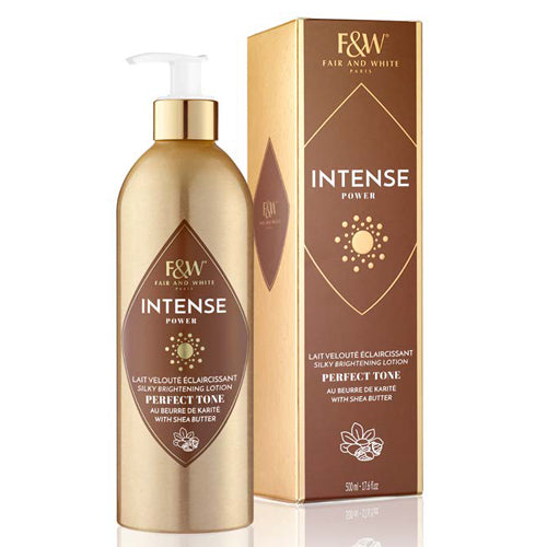 F&W INTENSE  Brightening Lotion Shea Butter 500ml