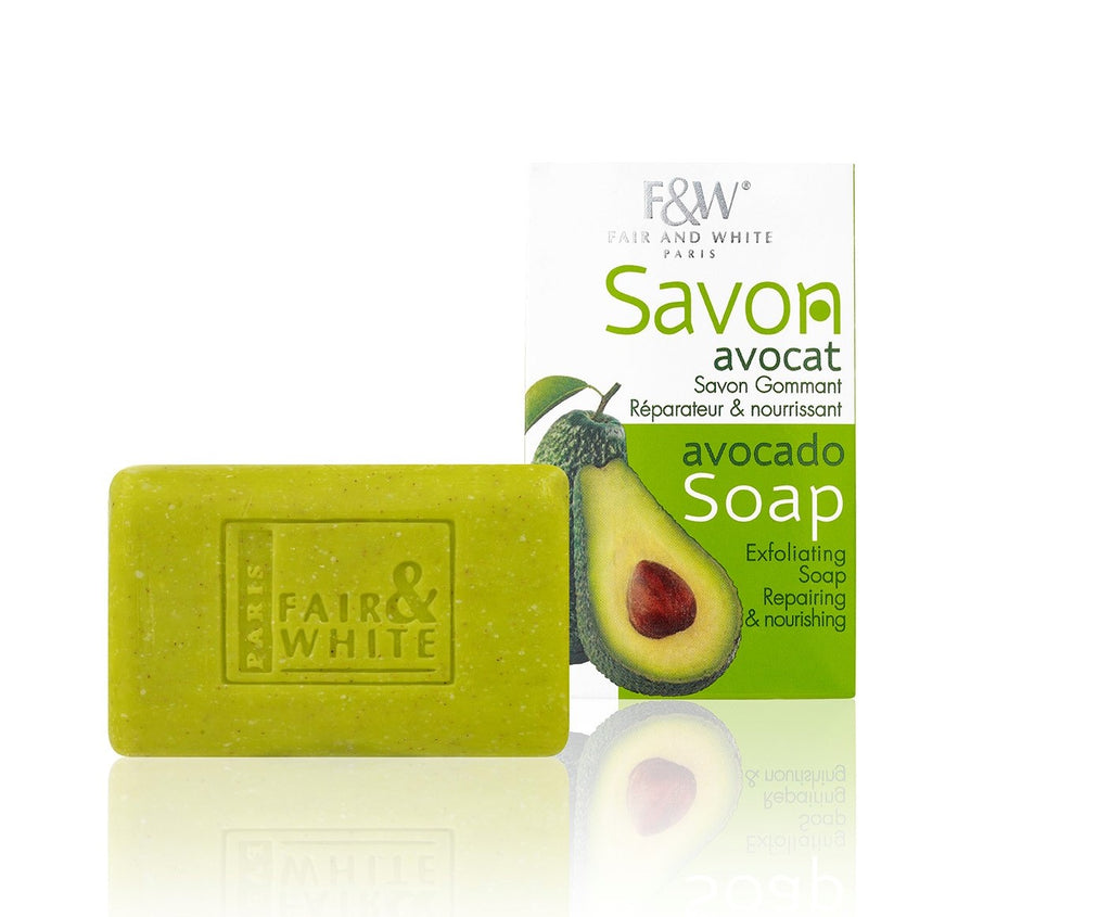 Original Avocado Exfoliating Soap 200 gm NEW! - Fair & White