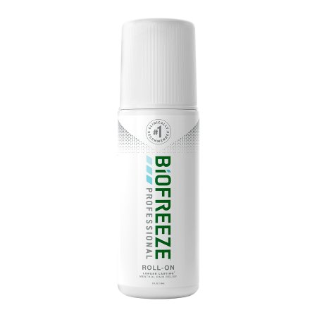 BIOFREEZE, ROLL-ON GRN 3OZ 1 PACK