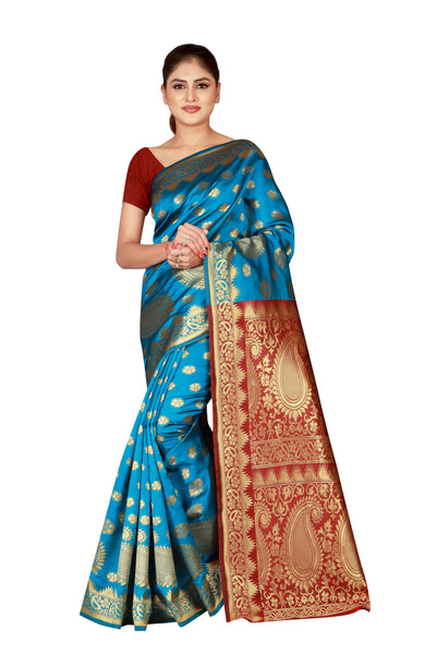 Cotton Silk Designer Print Saree M I - 29