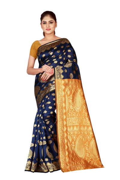 Cotton Silk Designer Print Saree M I - 31