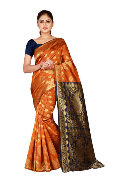 Cotton Silk Designer Print Saree M I - 32