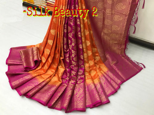 Mesmeric Beautiful designer sarees PTPL03