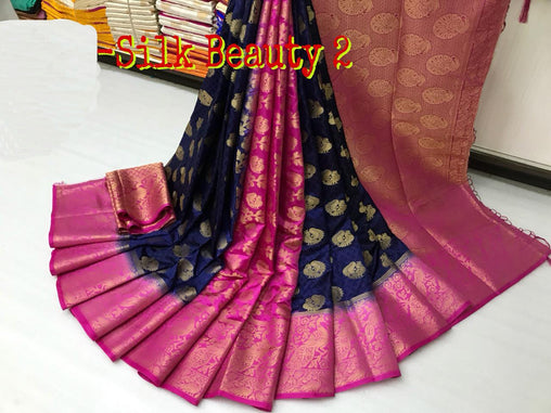 Gleming Beautiful designer sarees PTPL04