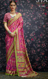 Multi Colour Designer Laila Cotton  SIlk  Saree 1002