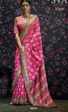 Multi Colour Designer Laila Cotton SIlk  Saree 1005