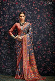 Multi Colour Designer Laila Cotton SIlk  Saree 1009