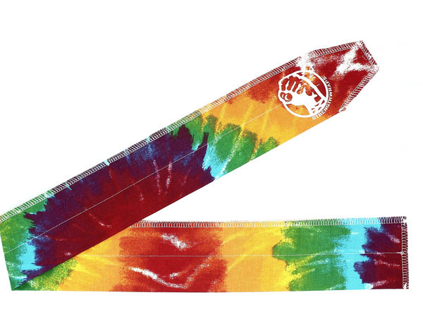 Tie-dyed colored Strength Wraps