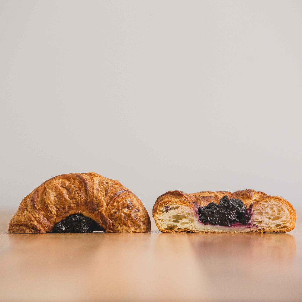 Fruit Jams/Cream Croissants