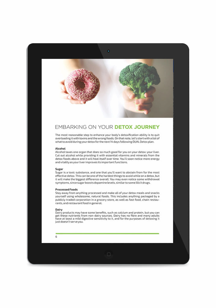 DUAL 14-Day Detox Plan(39 pages eBook)
