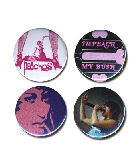 Impeach My Bush Button Set