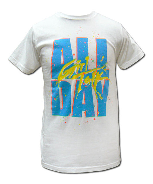 White All Day T-shirt
