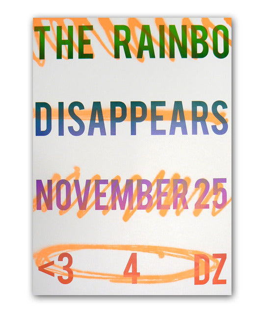 Disappears Zaretsky Benefit Poster