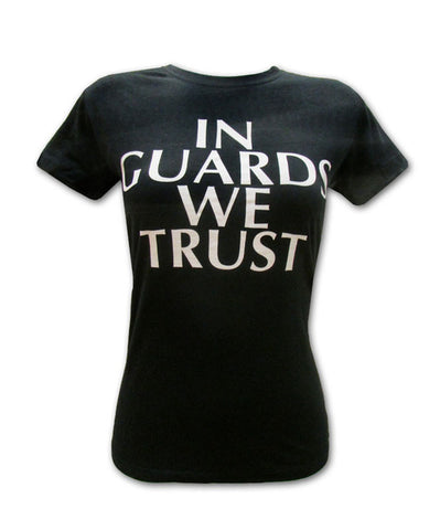 Girl's Trust T-shirt on Black