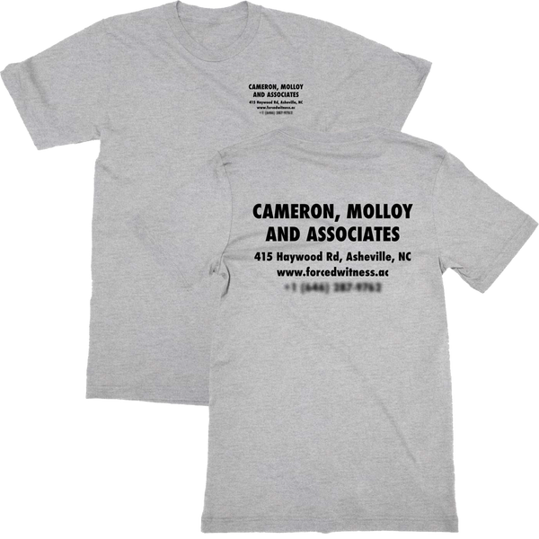 Cameron, Molloy and Associates T-shirt