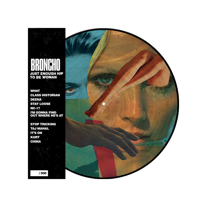 Just Enough Hip to Be Woman Picture Disc