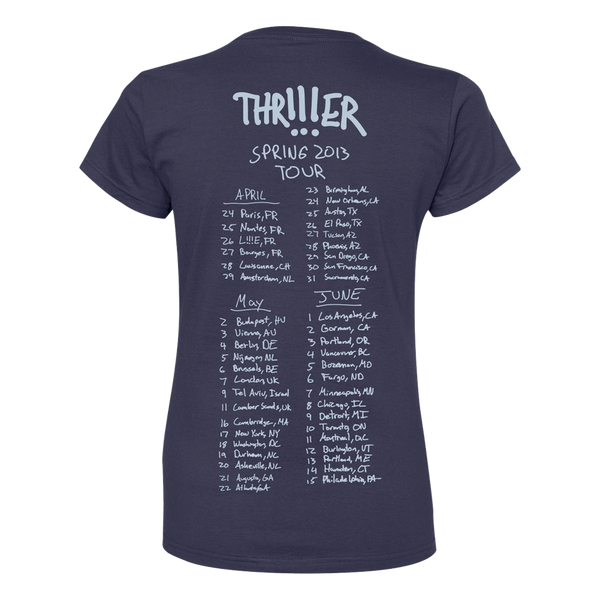 Girl's THR!!!ER Spring Tour T-shirt