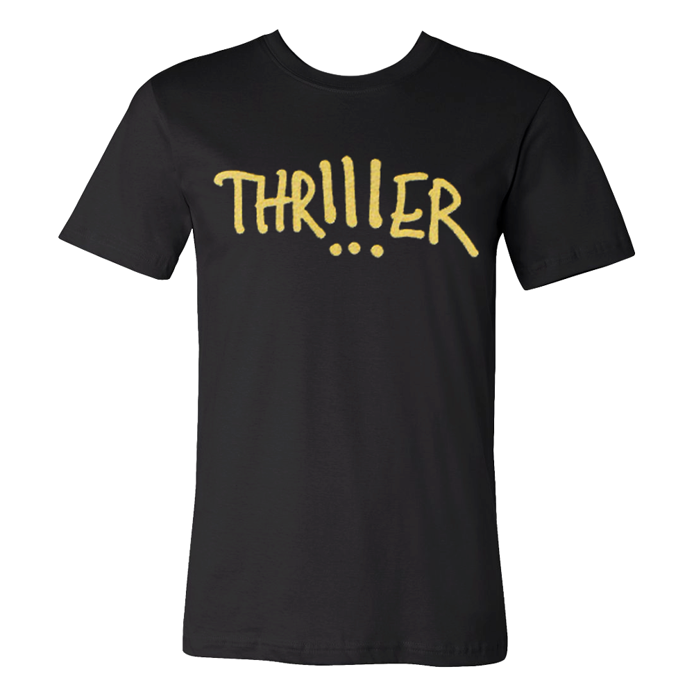 Gold Print THR!!!ER T-shirt