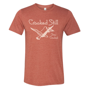 Still Crooked T-shirt (Clay)