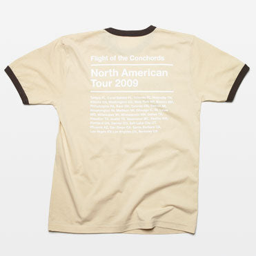 FOTC Band Meeting TAN Ringer T-shirt