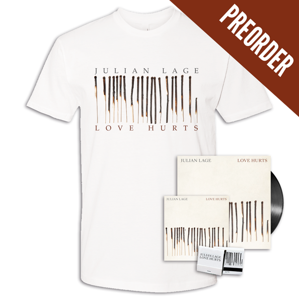 [PREORDER] Love Hurts CD + LP + T-shirt + Matchbook Bundle