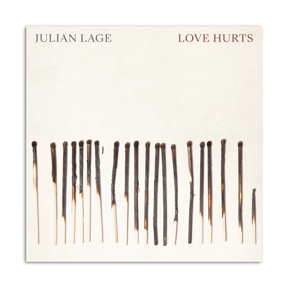 Love Hurts Album + Matchbook - STANDARD DOMESTIC SHIPPING INCLUDED