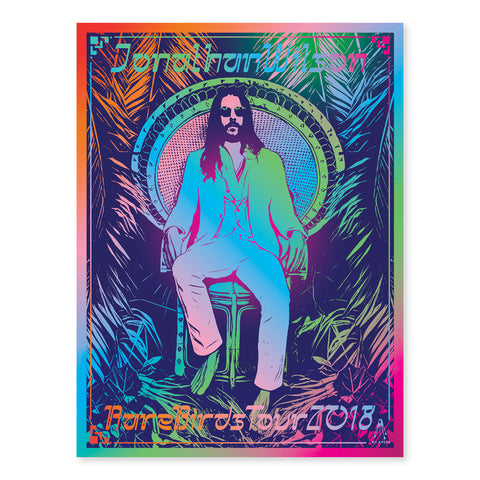 Rare Birds 2018 Blacklight Poster