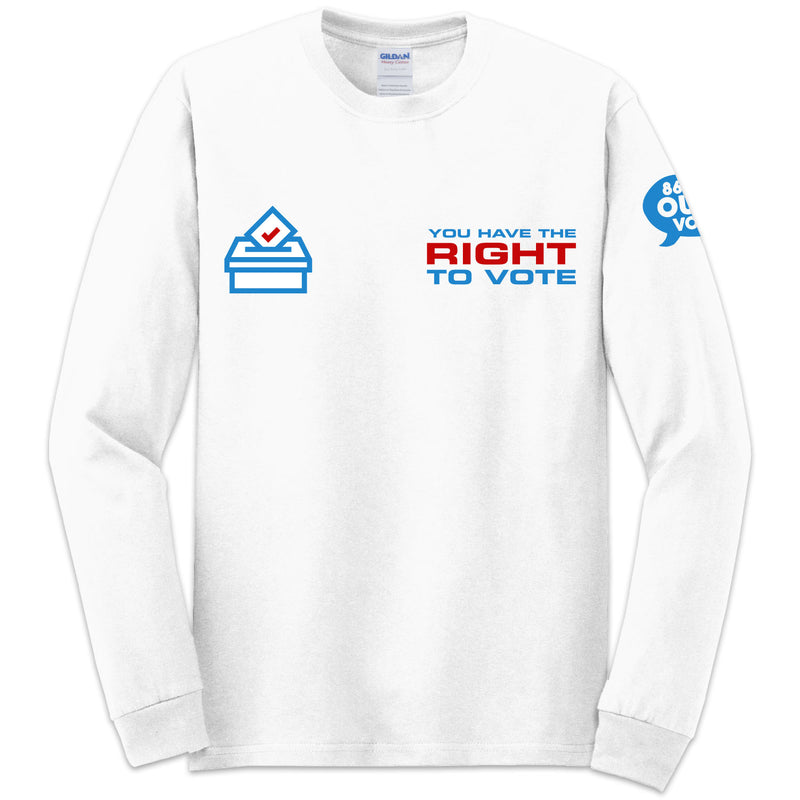 Right to Vote L/S T-shirt