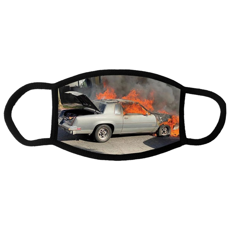 Flaming Buick Regal Mask