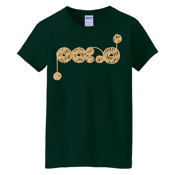 Women's Yellow Logo [FOREST] T-shirt