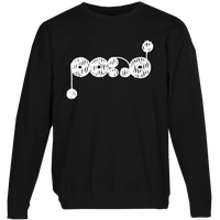 White Logo [BLACK] Sweatshirt