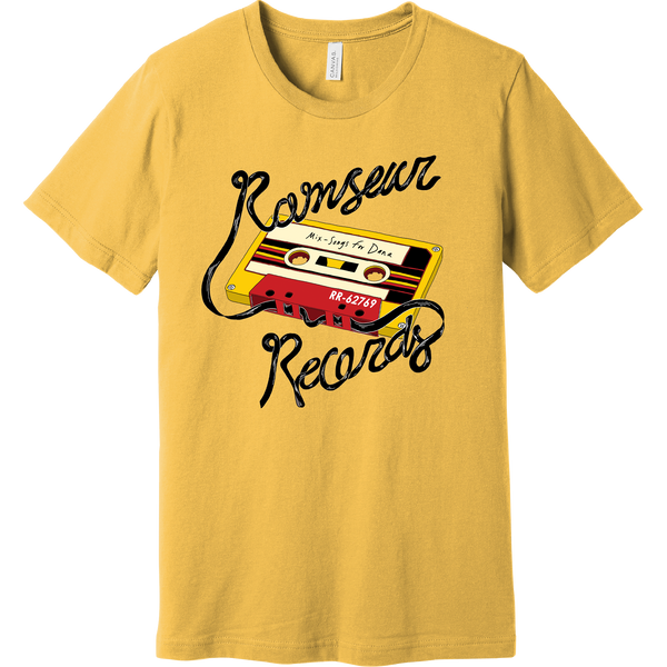 Cassette Tape [YELLOW] T-shirt