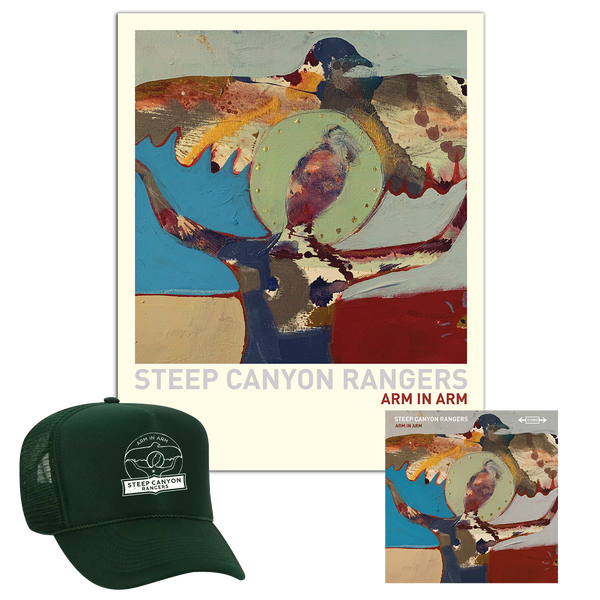 Arm in Arm CD + Poster + Hat Bundle