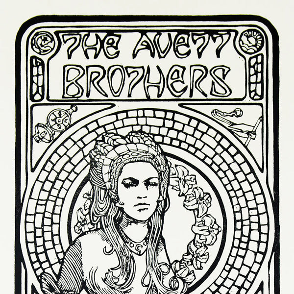 The Avett Brothers New Years Eve 2005 Print
