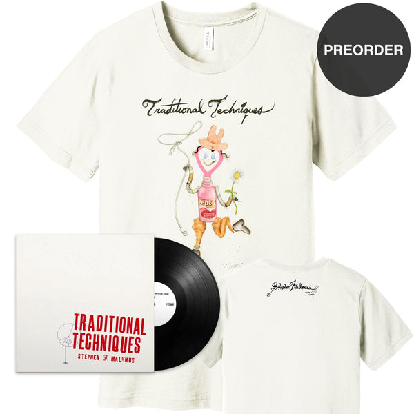 [PREORDER] Traditional Techniques LP + T-shirt Bundle