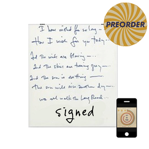 [PREORDER] Handwritten Lyrics [SIGNED] + WAV