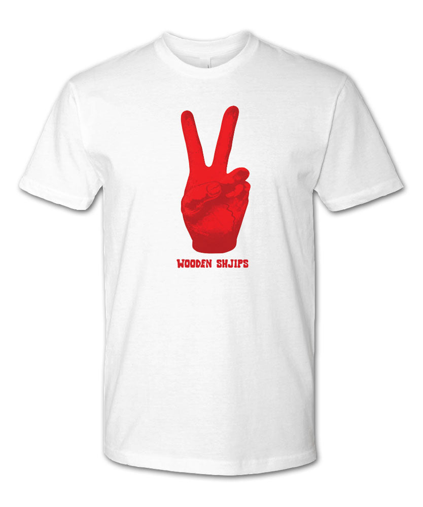 Red Peace Hand T-shirt