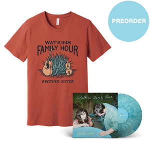 [PREORDER] brother sister AUTOGRAPHED LP + T-shirt Bundle