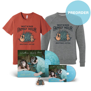 [PREORDER] brother sister Ultimate Bundle - AUTOGRAPHED LP + AUTOGRAPHED CD + Tee + Hoodie + Pin