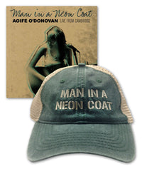 Man in a Neon Coat CD + Hat