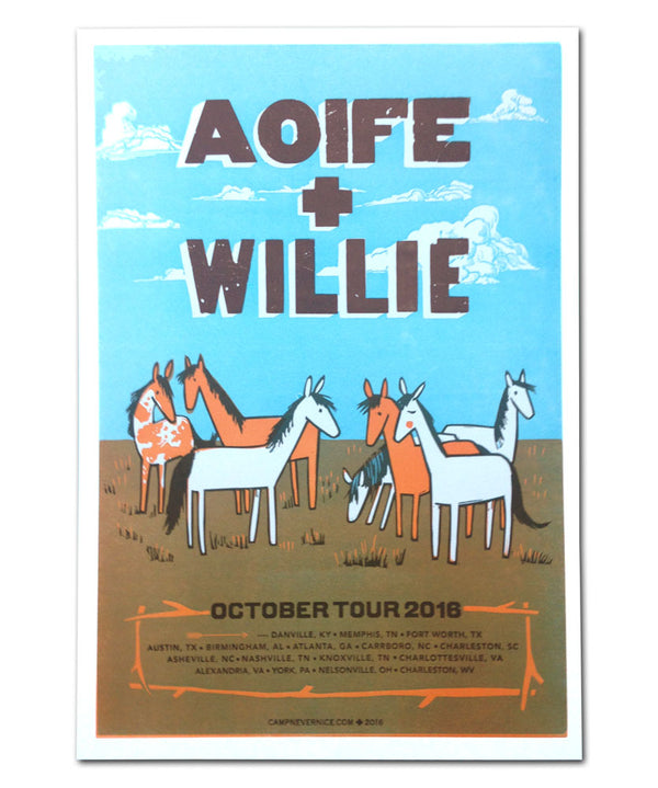 Aoife O'Donovan Fall 2016 Tour Poster
