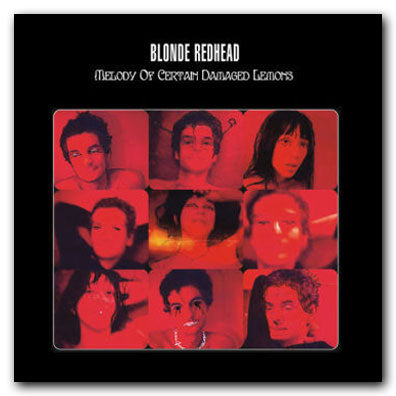 Blonde Redhead Melody of Certain Damaged Lemons CD