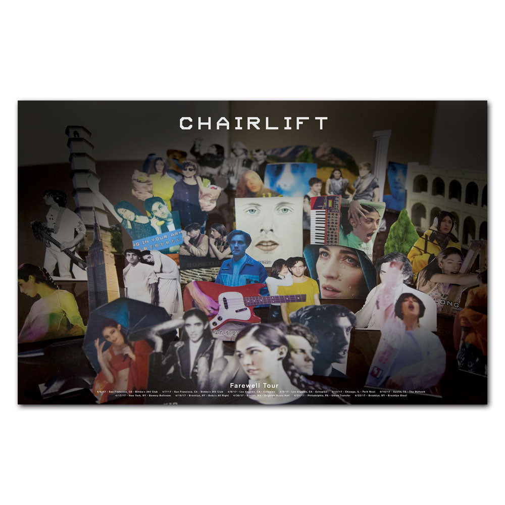 Chairlift Farewell Poster