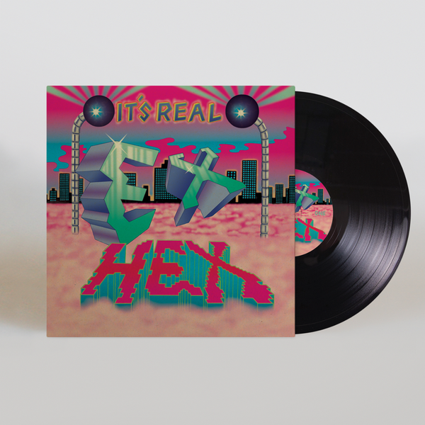 It's Real [BLACK] Vinyl LP