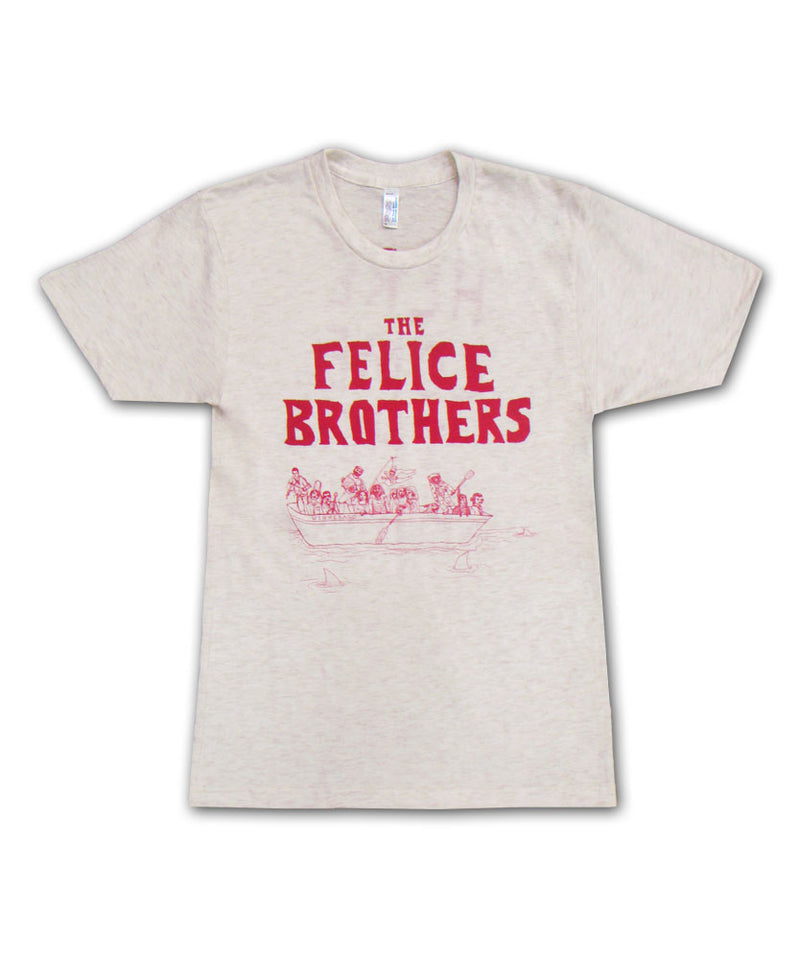 The Felice Brothers Boat T-shirt