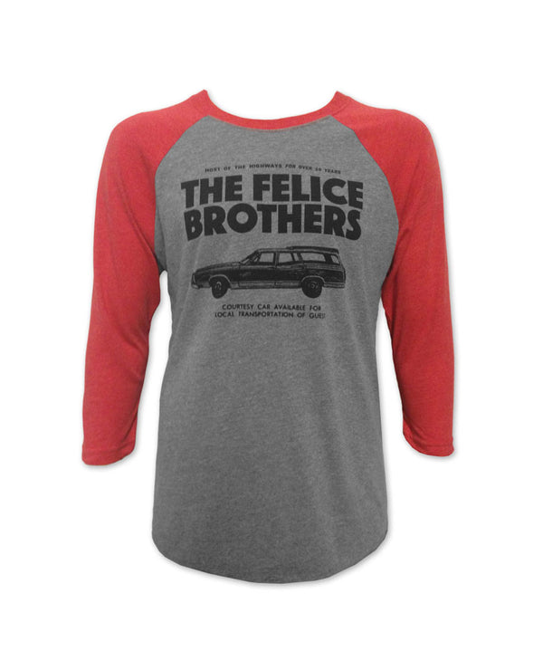 The Felice Brothers Car T-shirt