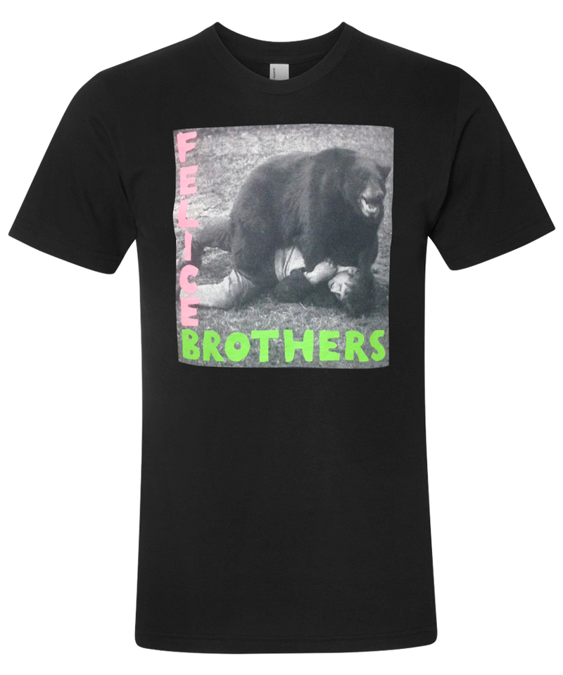The Felice Brothers Bear Short Sleeve T-shirt