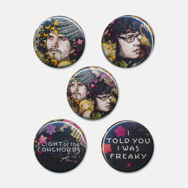 FOTC Freaky 5 Button Set