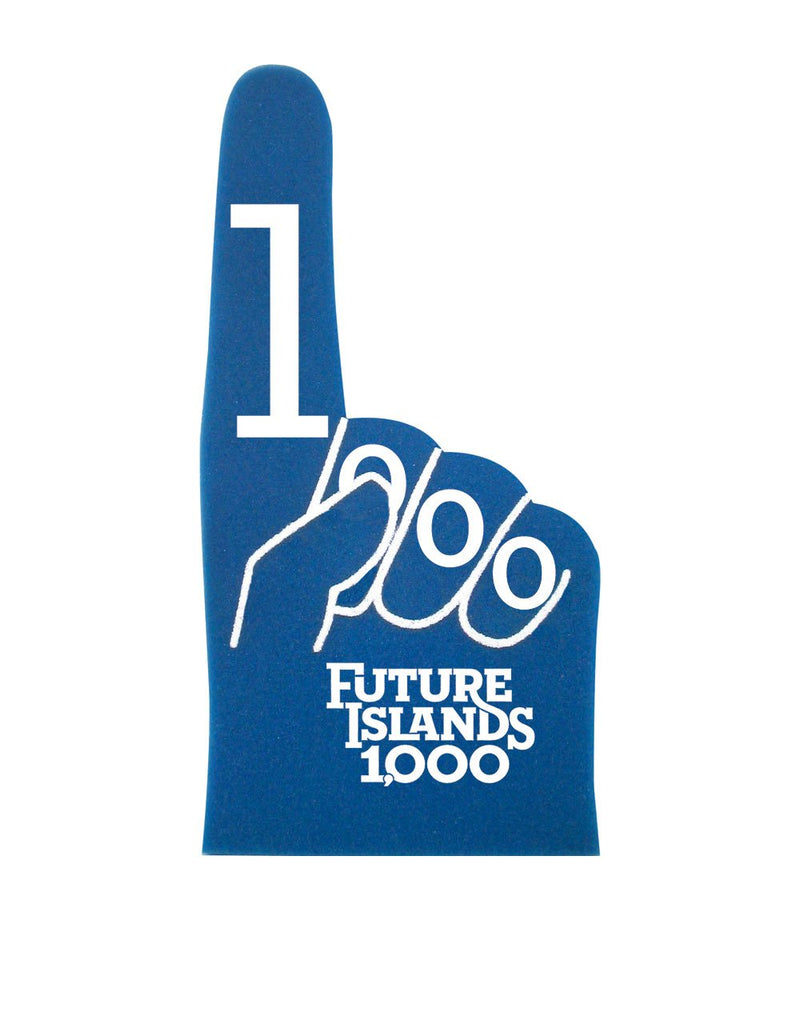 Future Islands 1000th Show Foam Hand