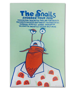 FI/The Snails Shoebox Tour Poster